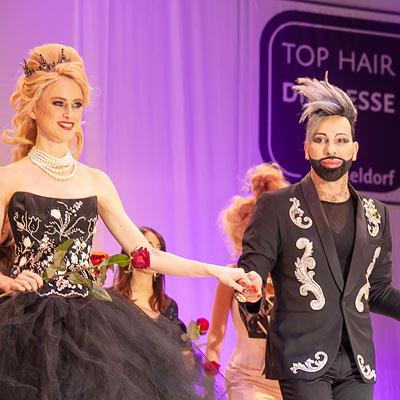 gfh top hair show with harald gloeoeckler
