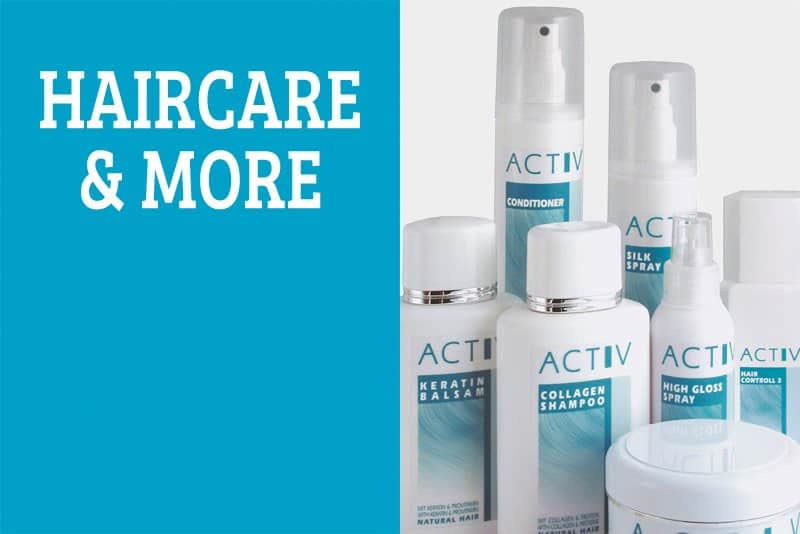 activ haircare products for hair replacement and wigs
